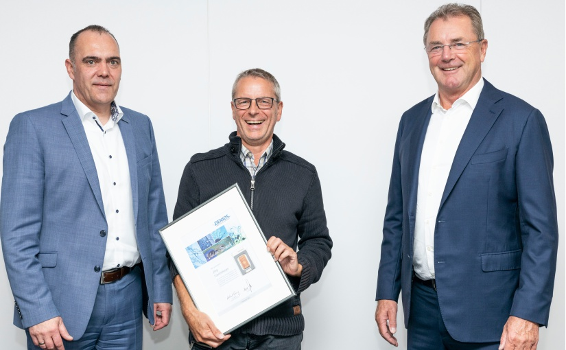 25 Jahre DENIOS: Jörg Lüvelsmeyer feiert Jubiläum