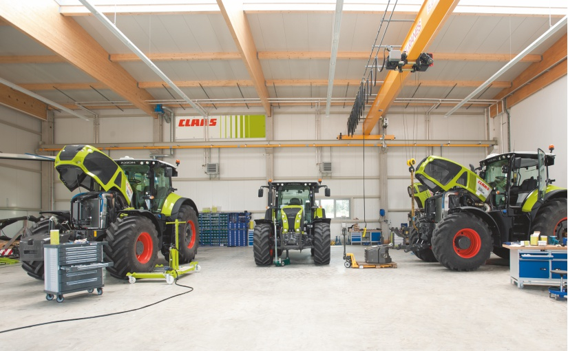 CLAAS erhöht Beteiligung an Hamburger Start-up E-FARM
