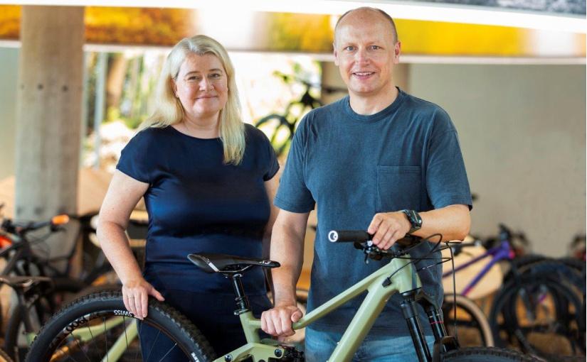 Stefanie Rose und Thorsten Heckrath-Rose, Geschäftsführer von Rose Bikes. - Foto: Rose Bikes