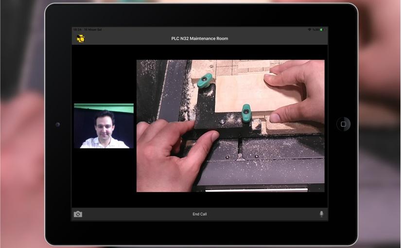 Video-Call per Service-App. - Foto: technotrans