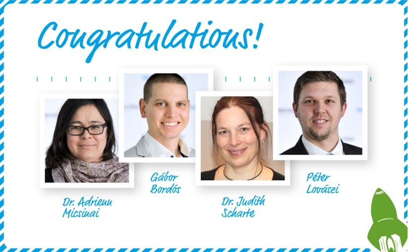 Herzliche Glückwünsche an die Gewinner des WESSLING Innovation Award 2020! Bildnachweis: ©WESSLING