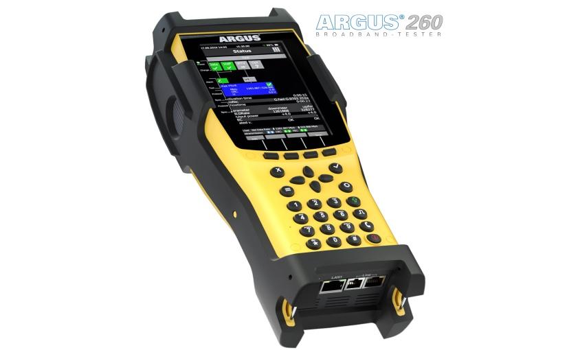 intec präsentiert ersten ARGUS-Breitband-Tester mit Touchdisplay