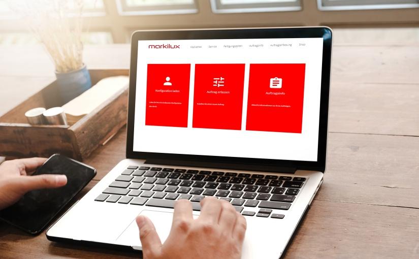 """Markisenhersteller markilux ermöglicht seinen Fachpartnern, neue Aufträge ab jetzt auch digital auf der """"pro.markilux-Website"""" des Unternehmens zu erfassen. Das sorge für mehr Überblick sowie einen gut gesteuerten Datenfluss und minimiere den Arbeitsaufwand. - Foto: markilux"""