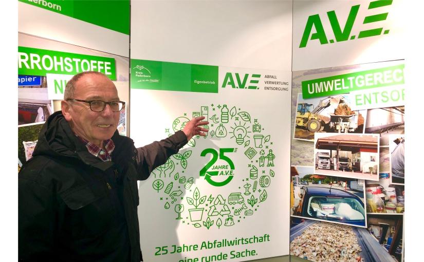 Ausschussvorsitzender Wolfgang Scholle zieht erfolgreiche Bilanz des A.V.E. - Foto: A.V.E.