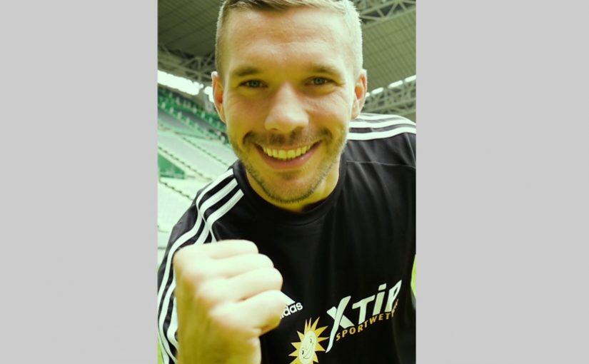 Lukas Podolski scheidet als Markenbotschafter von XTiP Sportwetten aus