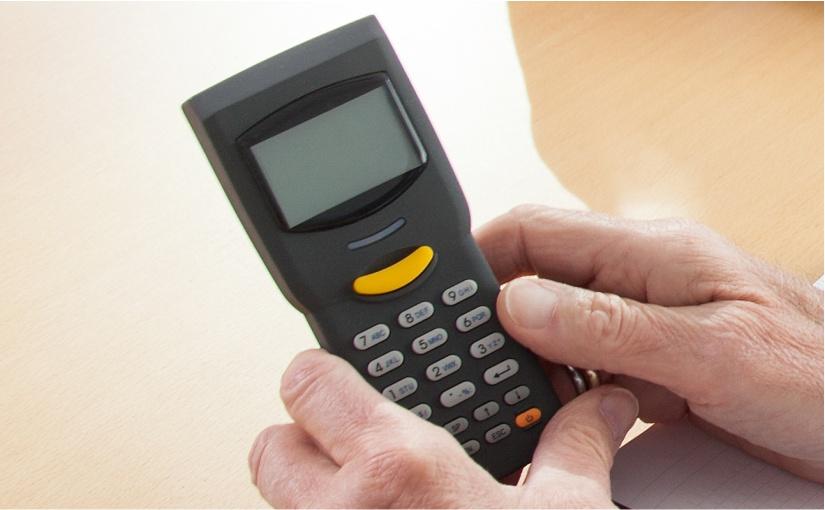 1999 das richtige Gerät zur richtigen Zeit: Mobiles Datenerfassungsgerät CipherLab 711 - kompakt, preisgünstig und einfach selbst zu programmieren. - Foto: AISCI
