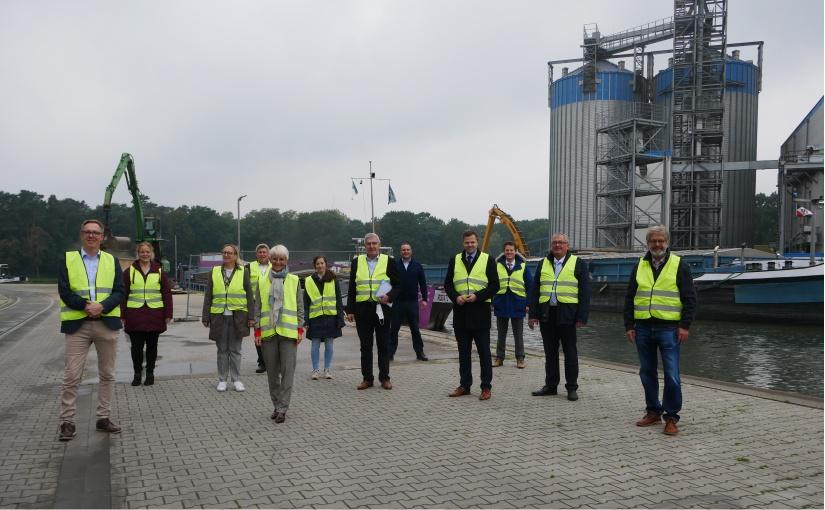 Pläne zum weiteren Ausbau des Hafens Spelle-Venhaus vorgestellt