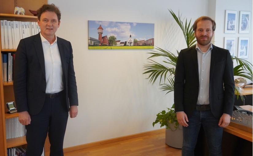 Sebastian Siemen ist Lingens erster Klimaschutzmanager