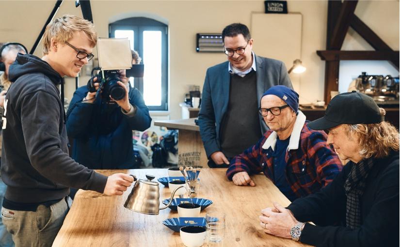 Kaffee für Münster: Prominente entwickeln neue ATLANTIC Hotels Blend