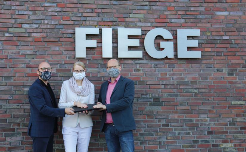 Fiege spendet IT-Geräte an Kinder- und Jugendhilfe aus Münster