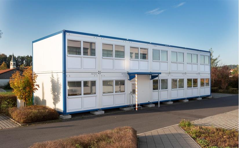 Schnelle komfortable Bürolösung: Industrie setzt auf ELA Container