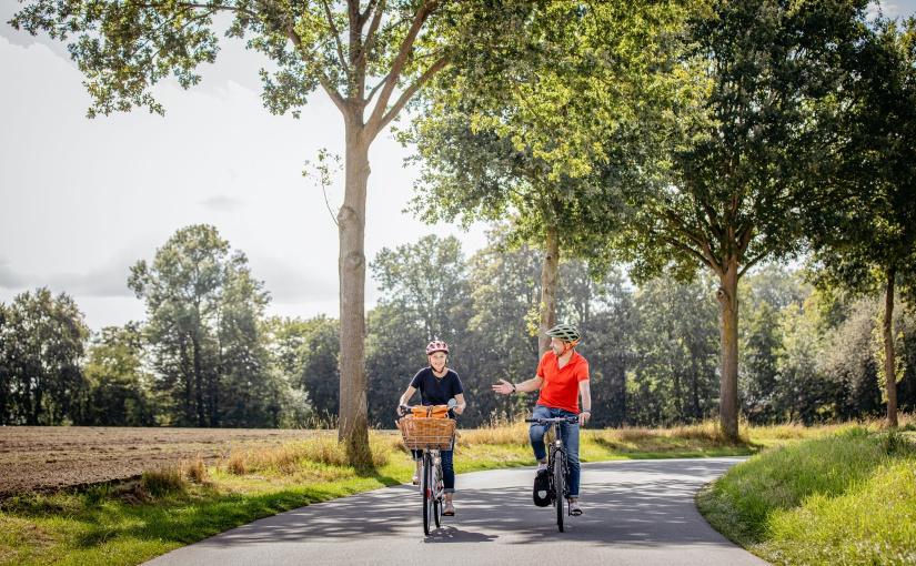 Die Studie zeigt: 78 Prozent der Nicht-Münsterländer verbinden das Münsterland mit dem Thema Fahrradfahren. Fahrradfahren im Münsterland. - Foto: © Münsterland e.V./Christoph Steinweg