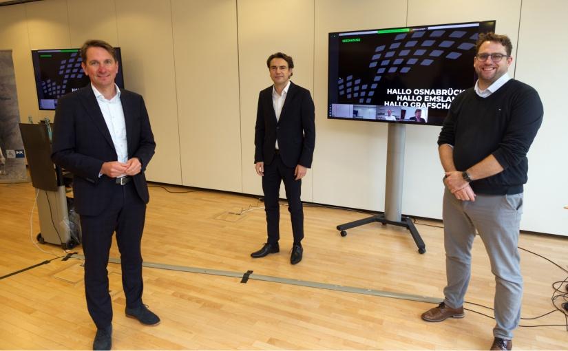 IHK-Mittagsgespräch: Start-up-Standort Osnabrück im Mittelpunkt