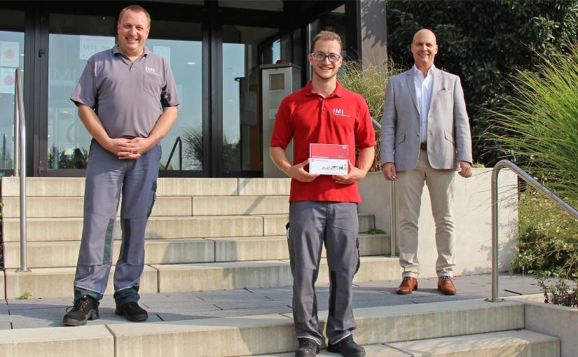Ehemaliger Auszubildender und Buschjost erhalten Auszeichnung der IHK