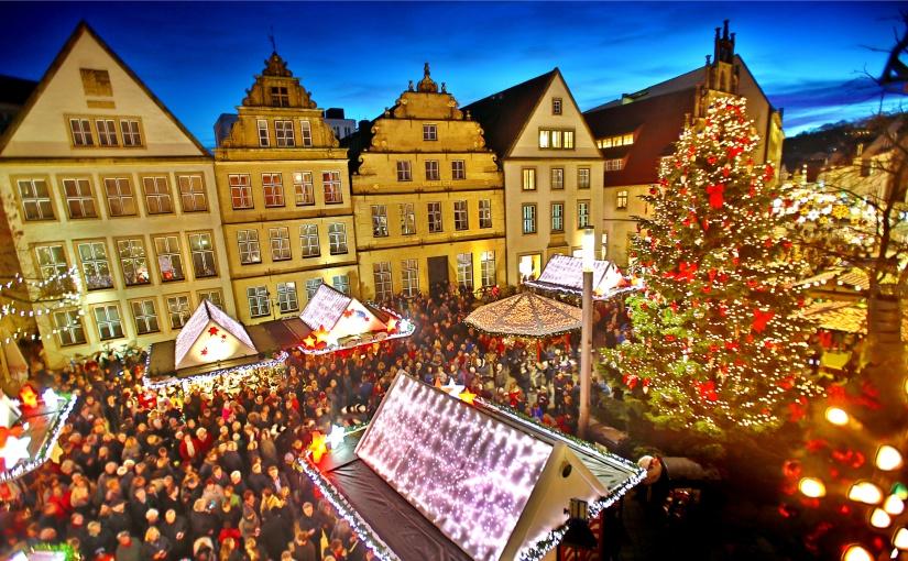 Der Bielefelder Weihnachtsmarkt am Alten Markt findet dieses Jahr nicht statt. - Foto: Sarah Jonek