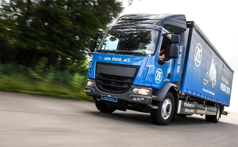 technotrans Pilotprojekt: neue Kühllösung für E-Truck-Prototypen