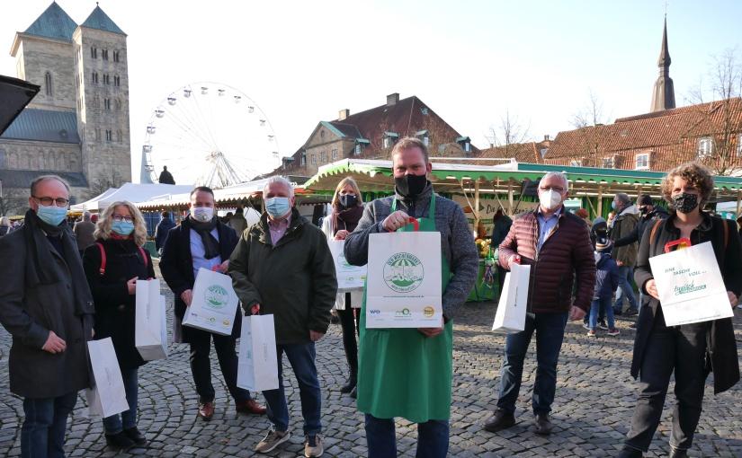 """Fachkräftekampagne: Eine Tasche voll """"typisch Osnabrück"""""""
