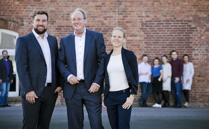 Das Next Level Team: v.l.nr. Tobias Busche, Thomas Busche und Andrea Rabe. Foto: Next Level OWL