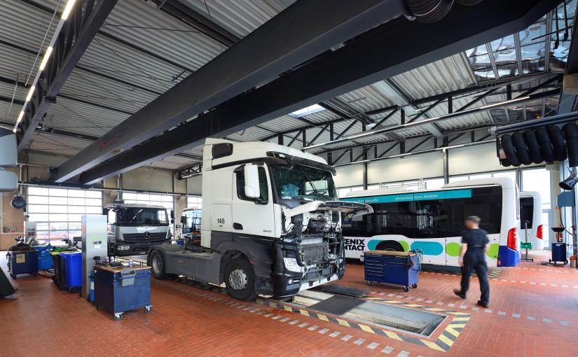 Van-Center im neuen ROSIER Nutzfahrzeugzentrum eröffnet