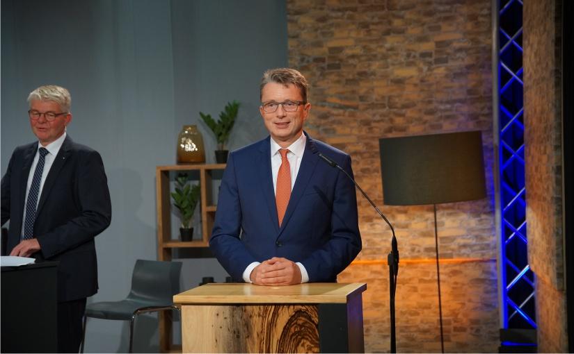 Volksbank-Vorstandsvorsitzender Michael Deitert. - Foto: Volksbank BIGT