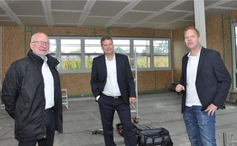 Euro-Express nimmt 2021 im Hansa-BusinessPark Fahrt auf