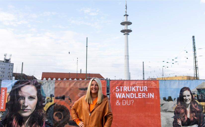 Barbara Hagedorn will mit der Kampagne mehr Frauen auf den Bau holen. - Foto: Hagedorn Unternehmensgruppe