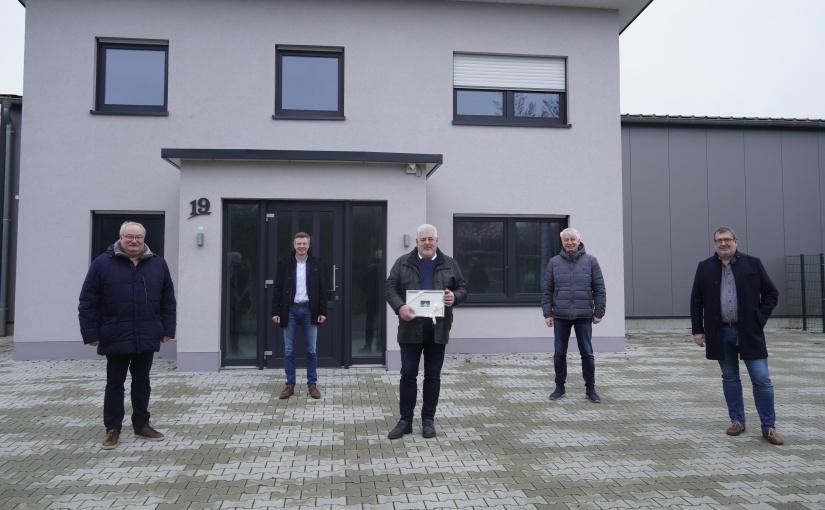 """Neubau der R1 Verkehrstechnik GmbH im """"Gewerbegebiet Biene"""" in Lingen"""