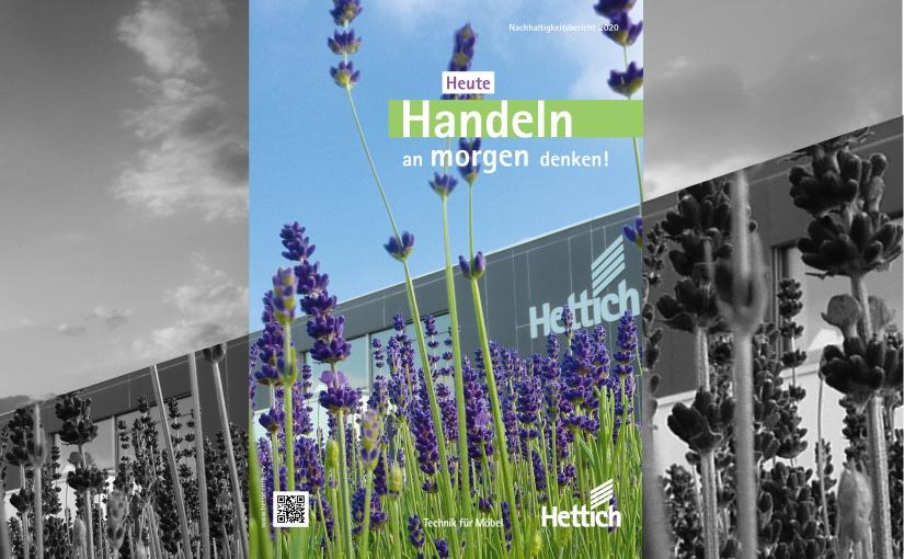 Hettich veröffentlicht neuen Nachhaltigkeitsbericht 2020