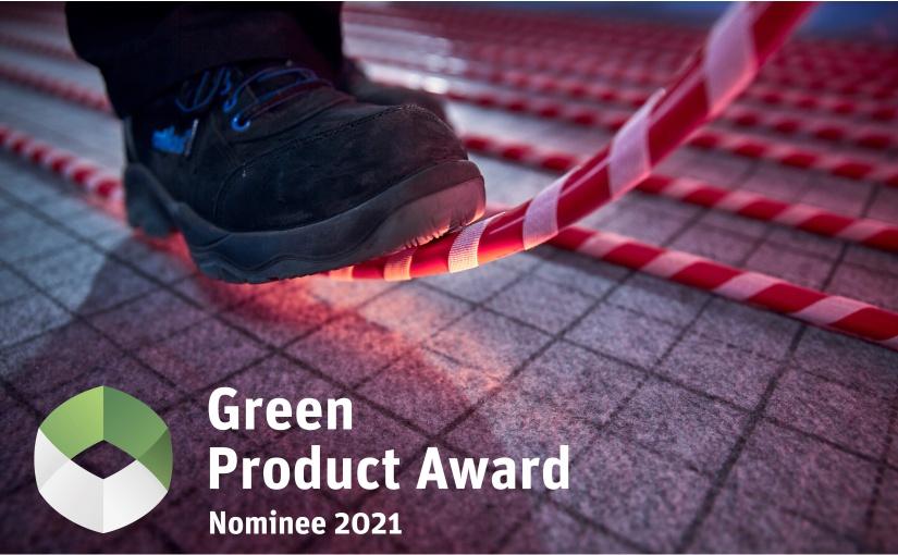 herotec-Produkt tempusFLAT für den Green Product Award nominiert