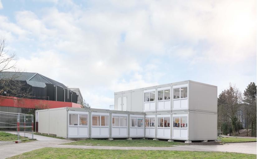 Bestens vorbereitet: ELA Containerräume stellen Unterricht sicher