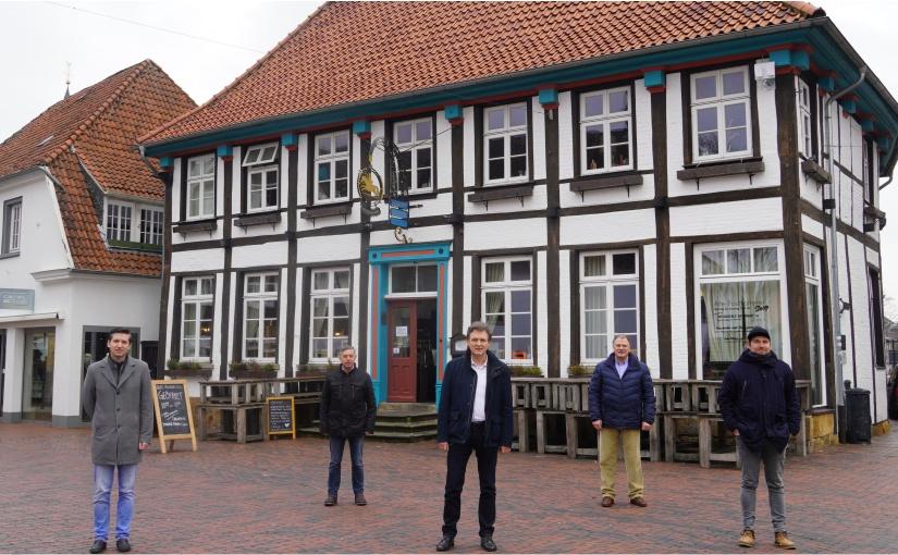 Lingen: Pachtvertrag für die Alte Posthalterei verlängert