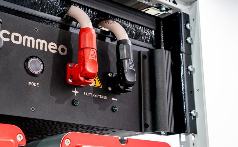 Han® S ist eine sichere Lösung für die Frontverkabelung von Energiespeichersystemen. - Foto: HARTING