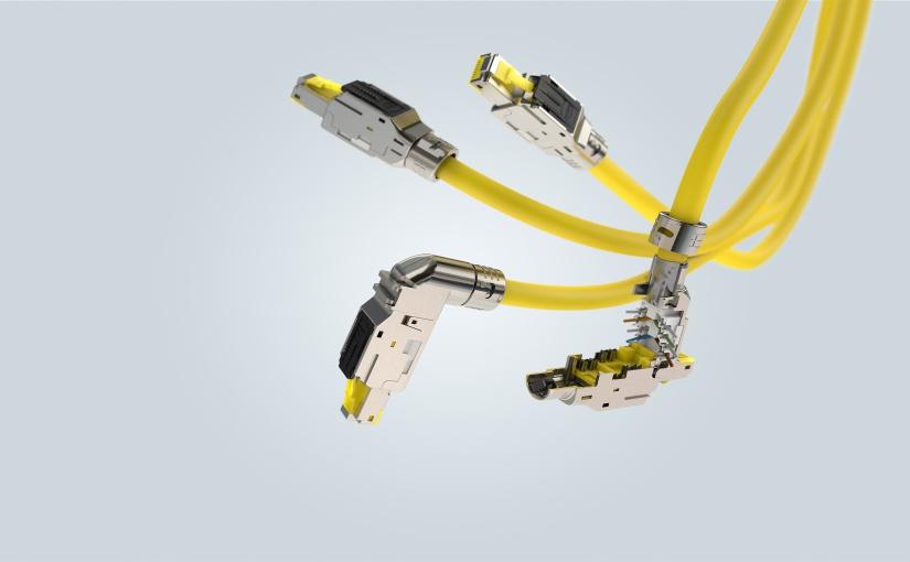 Der RJ45 Multifeature sorgt ebenfalls für eine optimale Kommunikation im Industrial Ethernet. - Foto: HARTING
