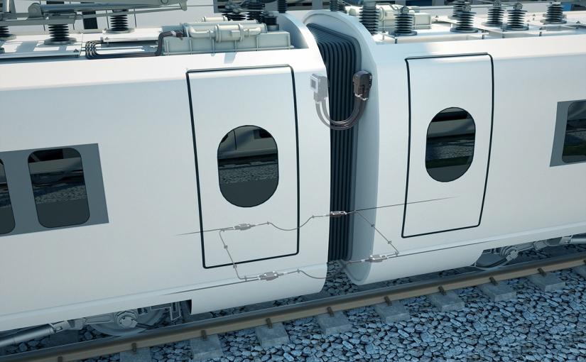 HARTING bietet Systemkonzepte für die wichtigsten Trends in der Bahnindustrie an. - Foto: HARTING