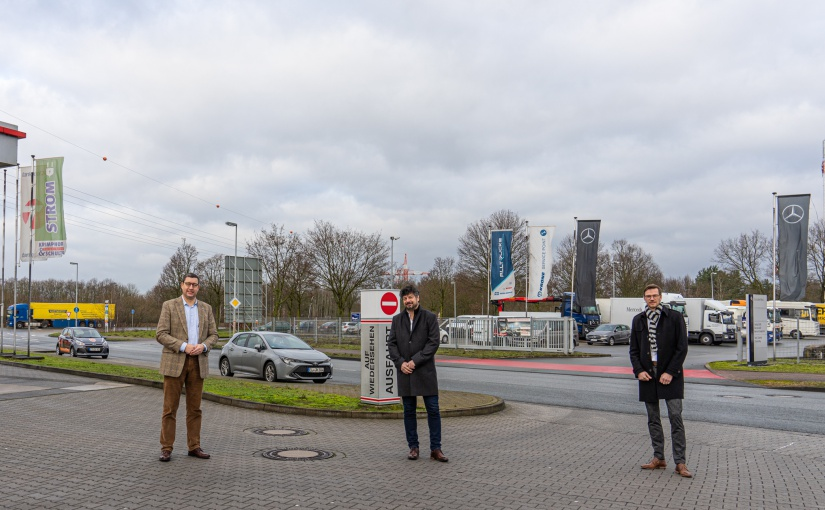 Regionale Unternehmen beschleunigen Umbaumaßnahme A30/B70 Rheine-Nord