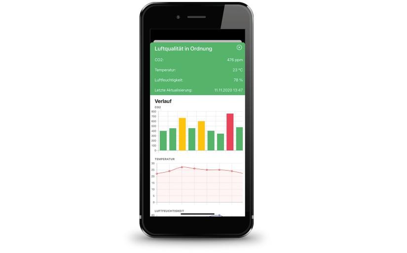 Die DEOS SAM App auf dem Smartphone. - Foto: DEOS AG