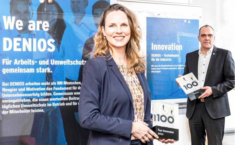 TOP 100-Auszeichnung: DENIOS gehört zur Innovationselite