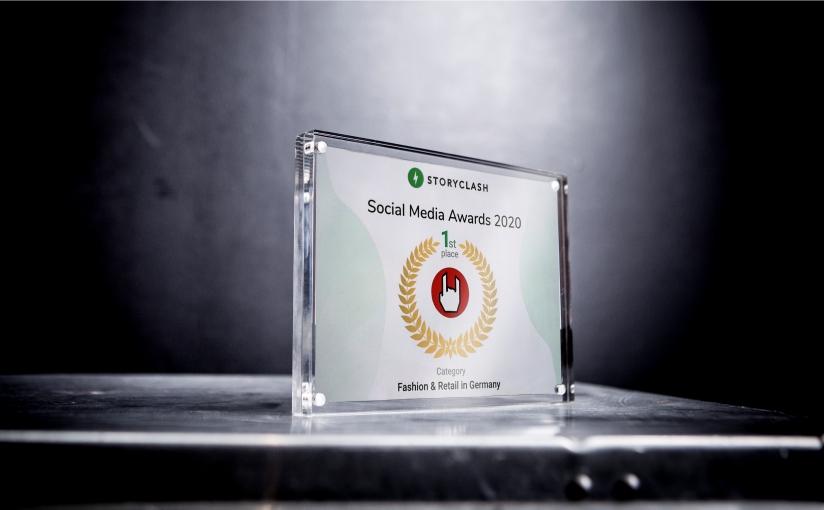 Merchandiser EMP gewinnt 1. Platz bei Storyclash Social Media Awards