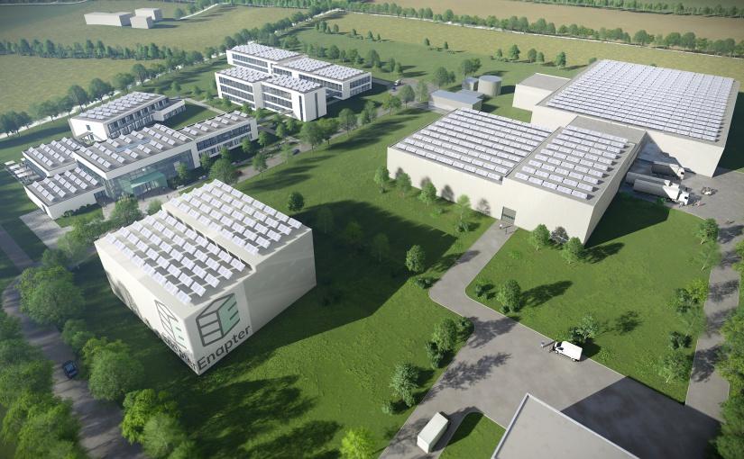 Baustart 9/2021: Enapter vergibt Generalplanungsauftrag an GOLDBECK