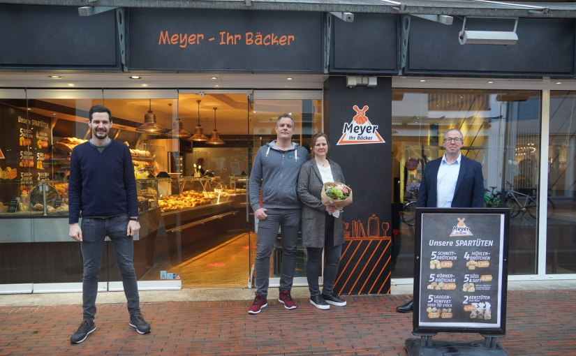 10. Filiale: Bäckerei Meyer neu in Lingener Lookenstraße