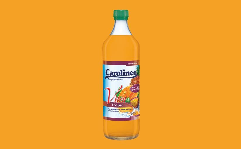 Carolinen Vital Tropic verstärkt erfolgreiche Vital-Produktrange