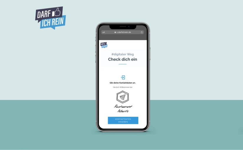 """Kirchlengern: """"darfichrein"""" App kostenlos für Gastronomen und Betriebe"""