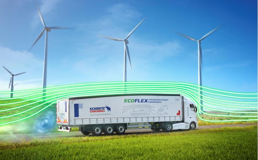 Förderungswürdig: Intelligente Trailer-Technologien wie die Fahrzeuge der EcoGeneration von Schmitz Cargobull. - Bild: Schmitz Cargobull