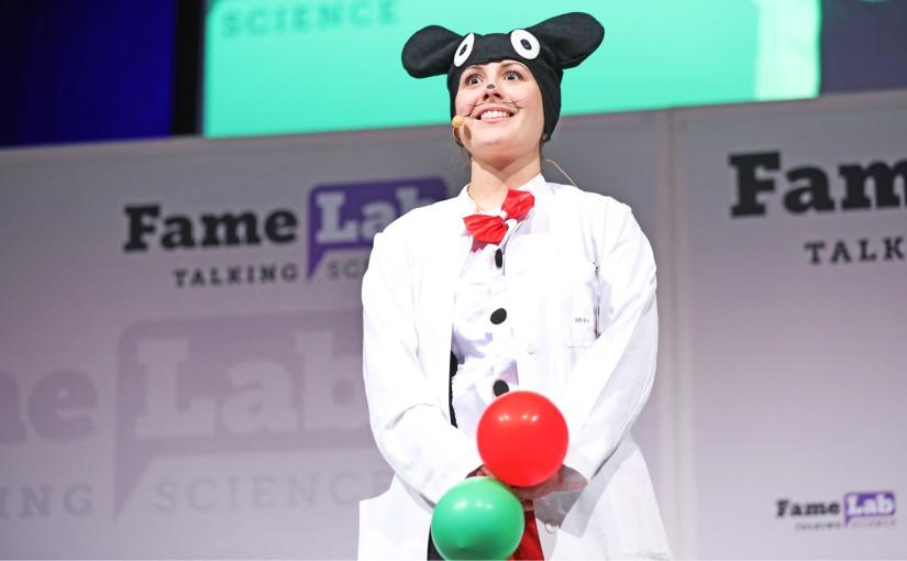 Bielefeld: Wissenschaftswettbewerb FameLab im Live-Stream