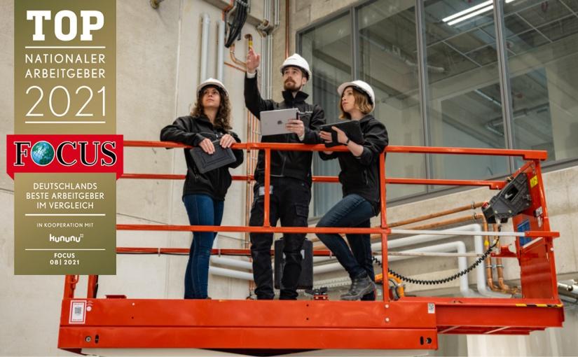 "Goldbeck bester Arbeitgeber der Baubranche im ""Focus-Business"" Ranking"