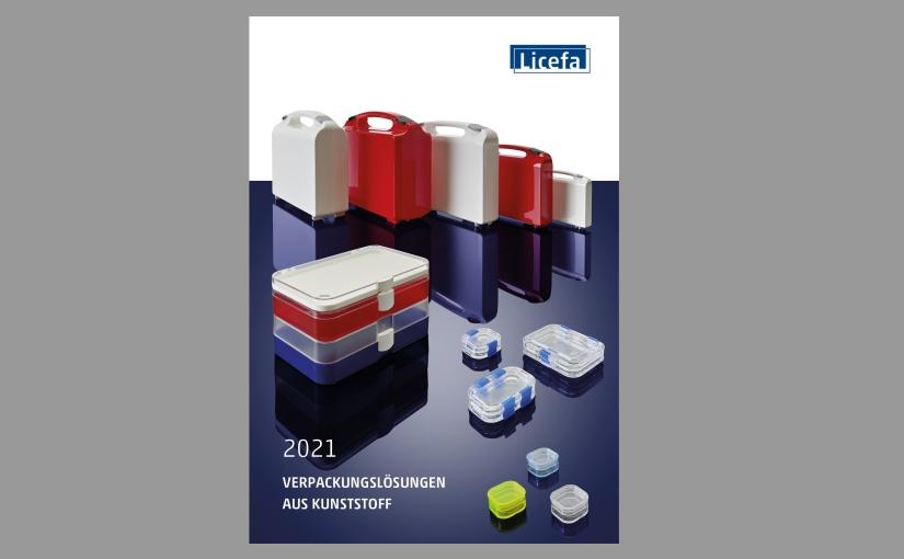 Der Verpackungskatalog 2021 von Licefa – unter www.licefa.de kostenlos bestellen. - Bild: LICEFA GmbH & Co. KG, 2021