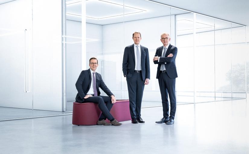 Der technotrans-Vorstands, v.l.n.r.: Dirk Engel, Peter Hirsch und Michael Finger (Sprecher). - Foto: technotrans SE