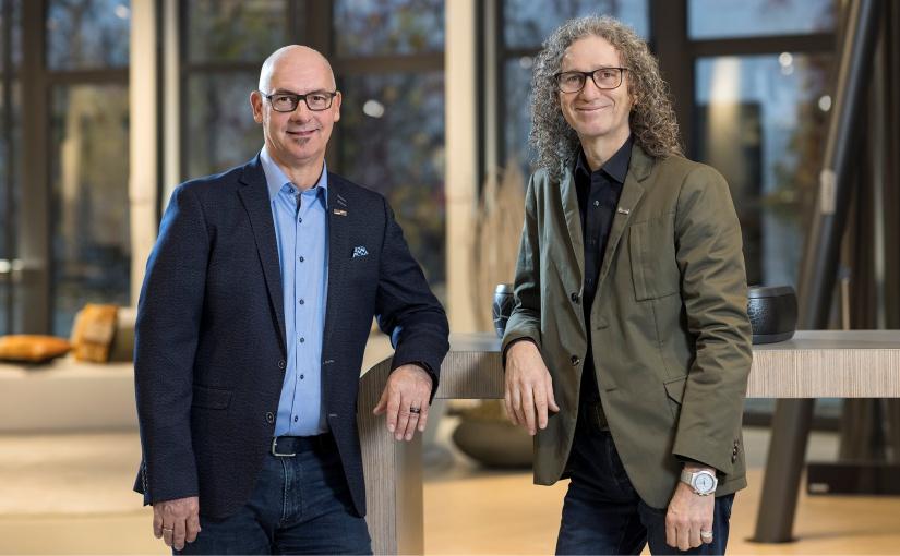 Michael Gerling und Sven Kroener von markilux. - Foto: markilux