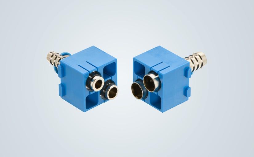 Han® Pneumatik Doppelmodul_Han-Modular® . - Foto: HARTING