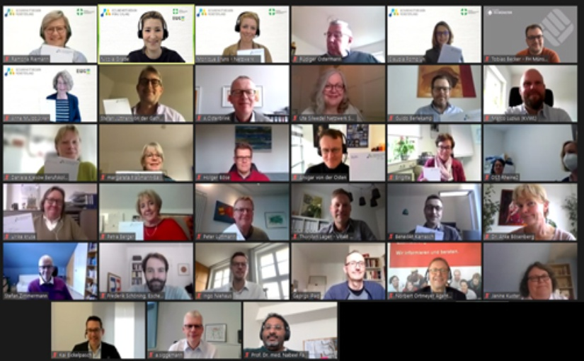 Teilnehmer des GRMSL-Workshops. - Foto: EWG Entwicklungs- und Wirtschaftsförderungsgesellschaft für Rheine mbH